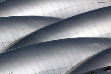 Detailaufmahme einer Dachkonstruktion