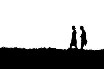 Walking pair