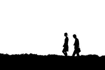 Walking pair