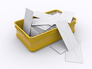 Briefbehälter