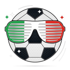 soccer party, italy