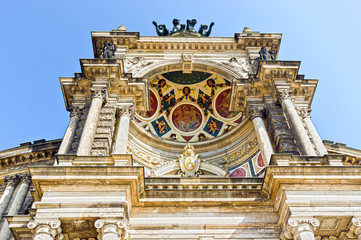 Detail Semperoper in Dresden