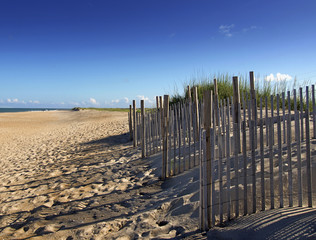 Sand Dune Wind Fences