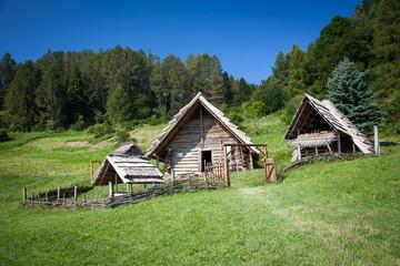 Celtic settlement at Havranok - Slovakia