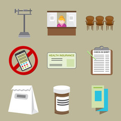 Doctor Office  Icons