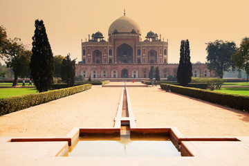 Humayun's Tomb, Delhi, India - the tomb of second Mughal Emperor