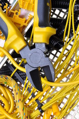 Electrical component kit and for use in electrical installations