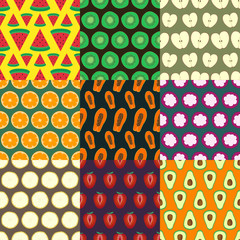 fruits seamless pattern series 2