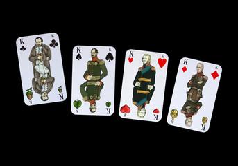 Spelkarte Völkerschlacht Leipzig - KÖNIGE