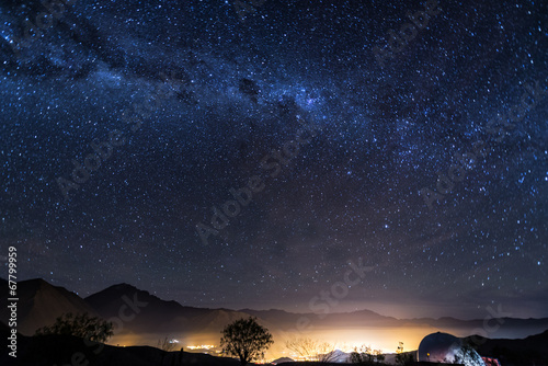 Fotobehang Zuid-Amerika land Stars of Vicuna, Chile