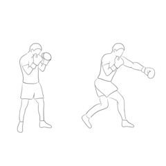 Two boxers doodle