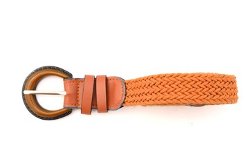 Woman orange belt