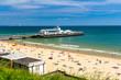 Leinwandbild Motiv Bournemouth Beach Dorset