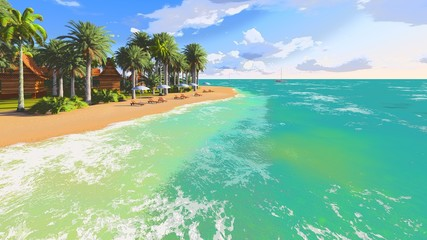 Tropical beach_2