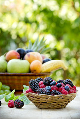Variety of fruits for your health