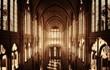 Leinwandbild Motiv Chiesa cattedrale gotica