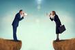 business concept conflict megaphone - 67805956