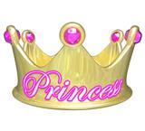 Princess Gold Crown Royalty Pretty Spoiled Girl Woman poster