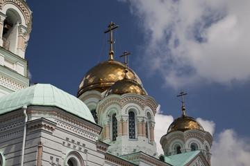 Символы православия. Фрагмент храма
