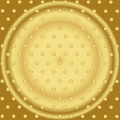Pattern With Mixed Small Spots On Golden Color