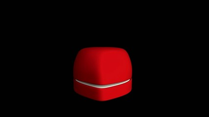diamond ring in heart box