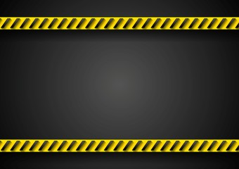 Danger tape abstract background