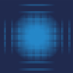 Vector Blue Lines Abstract Background