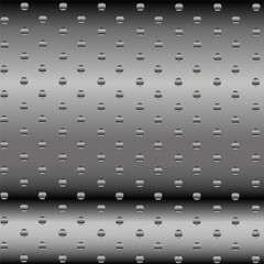 Vector Abstract Dotted Metal Background Design