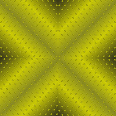 Technology Background With Green Seamless Texture