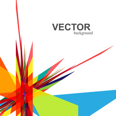 abstract  rainbow colorful creative technology vector design