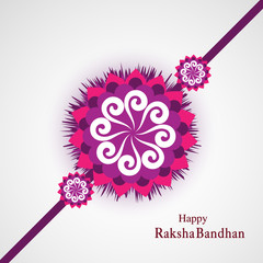 Raksha Bandhan Indian festival background  illustration vector
