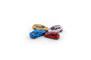 toy car model, car crash