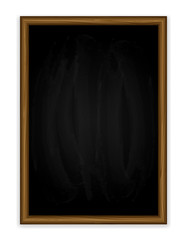 Black vertical chalkboard