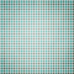 Blue and Grey Plaid Textured Fabric Background