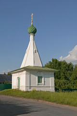 Chapel of the Holy Cross at Holy Lake, Kostroma, Russia