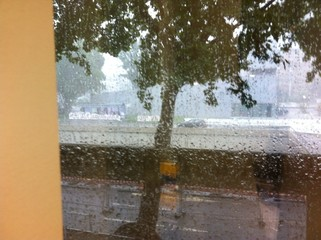 storm rain