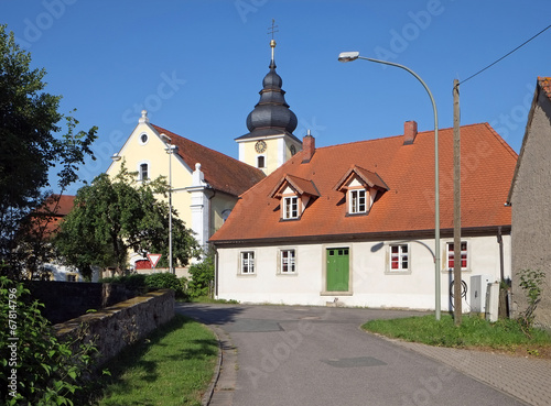 canvas print picture St. Maria in Pommersfelden