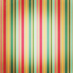 Retro stripe pattern with bright colors