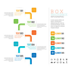 Box White Space Infographic