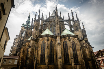 Saint Vitius Cathedral,Prague Czech Republic