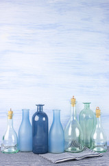 Decorative bottles set