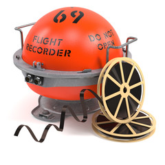 Flight recorder and sound tapes