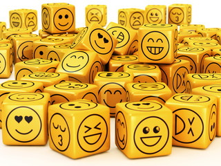 Smileys on boxes