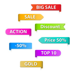 Infographics Vector Background icon sale web
