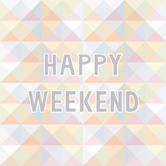 Happy weekend background2