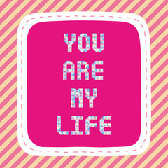 You are my life2