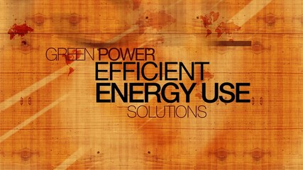 Efficient energy use efficiency wood words text tag cloud