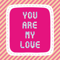 You are my love2