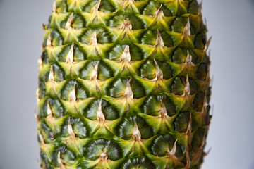 Pineapple closeup