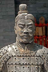 Terracotta warrior, Juyongguan, China